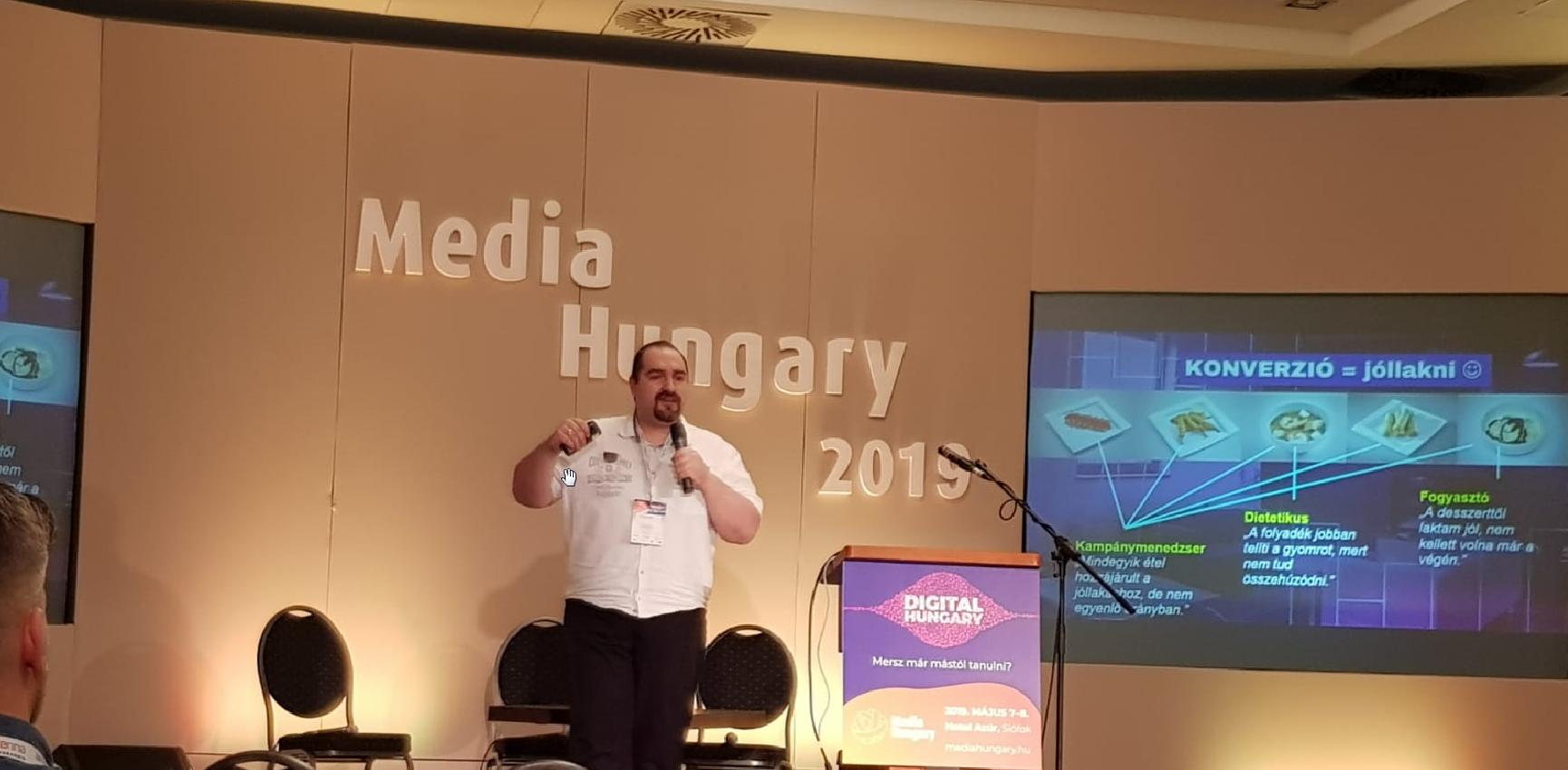 Harsányi Miklós Media Hungary 2019 előadás