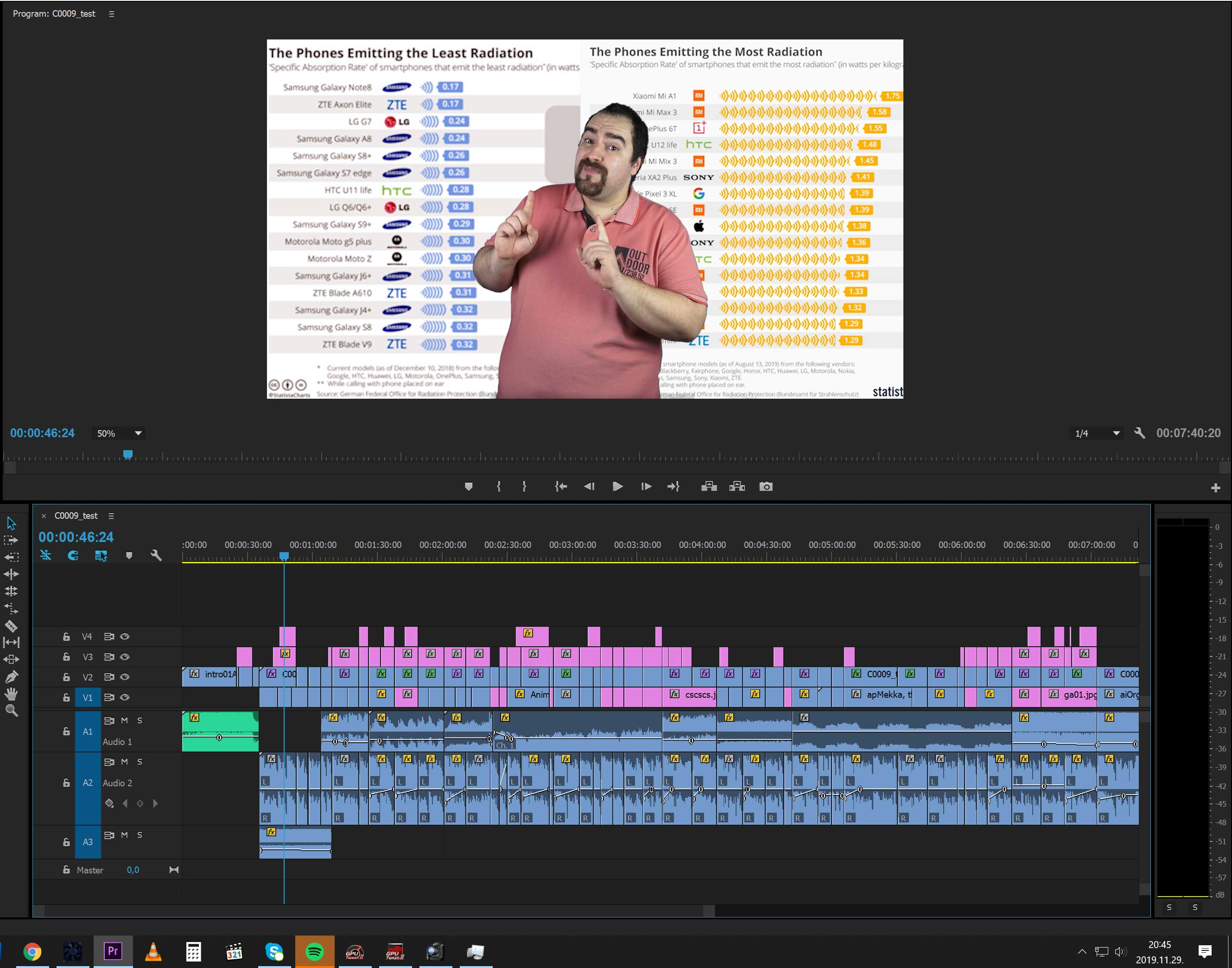 Harsányi Miklós Premiere CC videóvágás